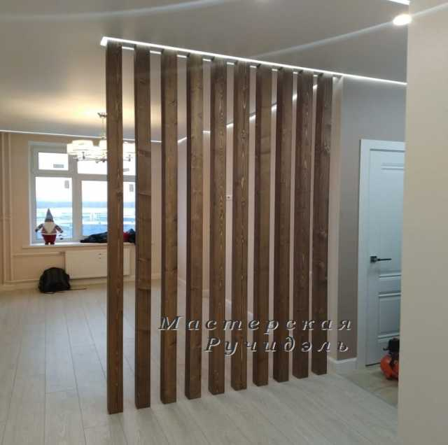 Продам: Деревянные реечные перегородки Vertical