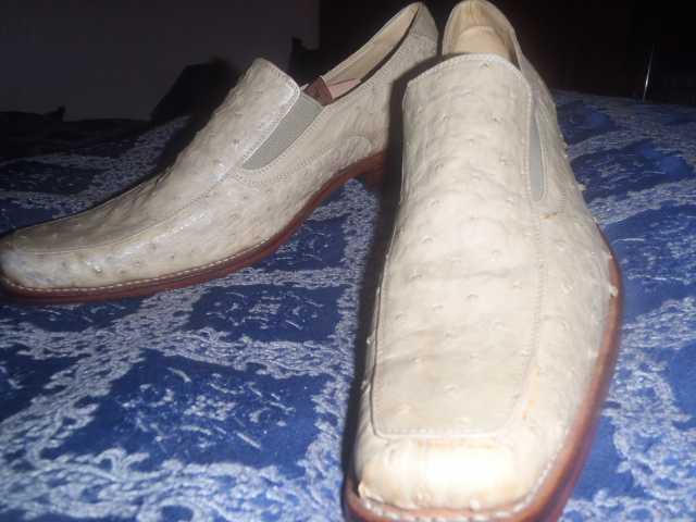 Продам: Туфли из кожи страуса