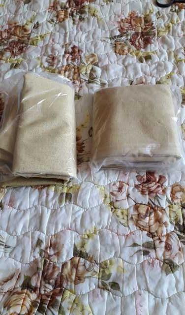 Продам: шторы льняные с подкладкой