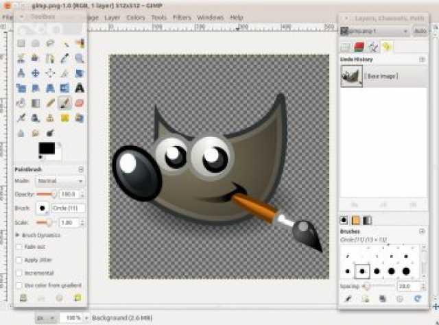 Предложение: Графический редактор GIMP