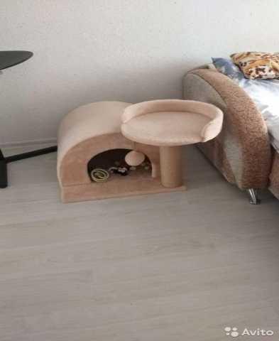 Продам: Домик для кошки собаки с когтеточкой