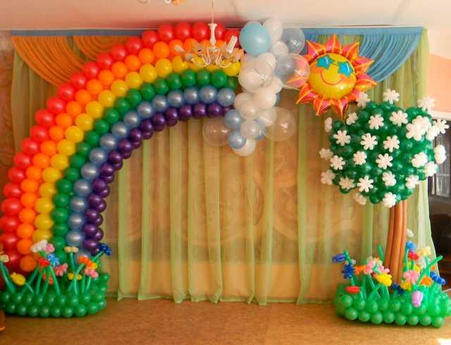 Предложение: Оформление воздушными шарами