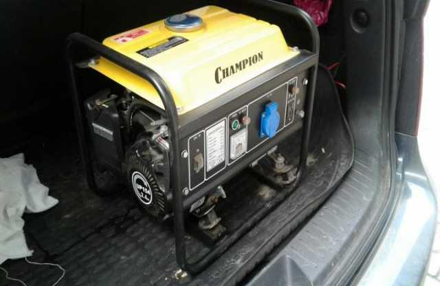 Продам: Бензиновый генератор CHAMPION