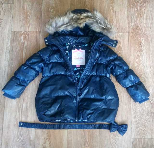 Продам: детскую куртку пуховик