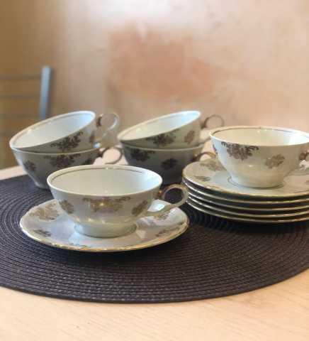 Продам: Чайные пары на 6 персон ГДР СССР