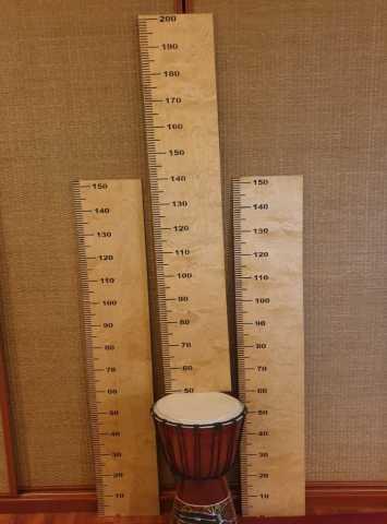 Продам: ростомер деревянный в виде линейки