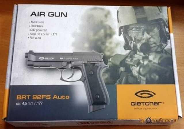 Продам: Пневматический пистолет Gletcher BRT92FS