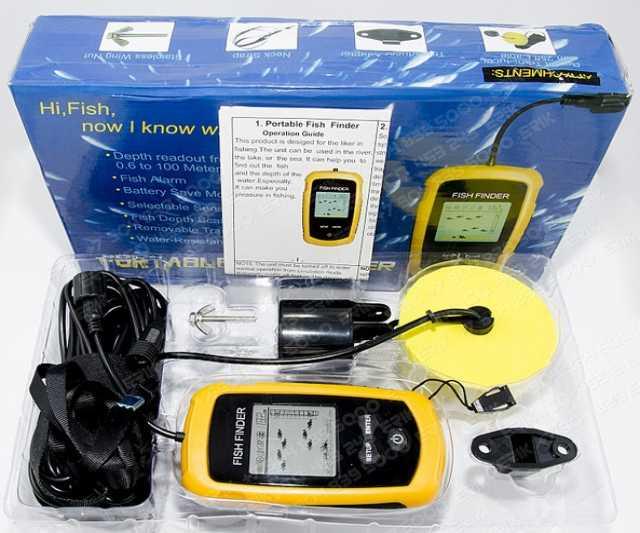 Продам: эхолот Fishfinder FD01WR!