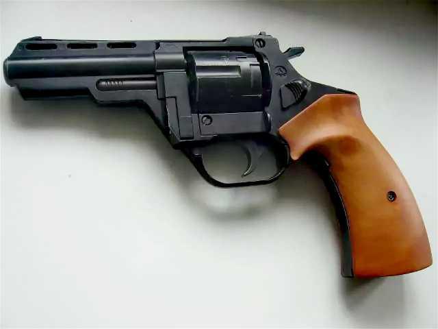 Продам: Газовый револьвер и пистолет