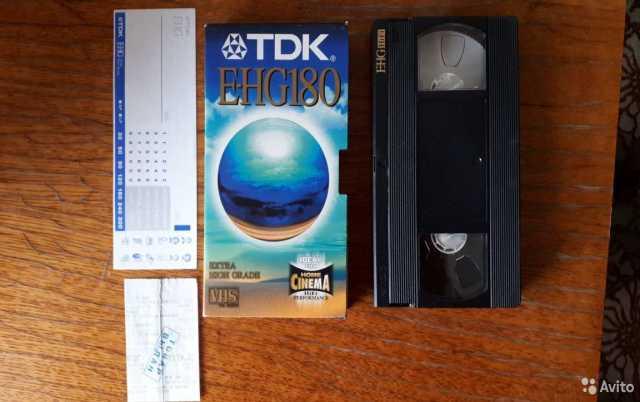 Продам: Чистые Видеокассеты TDK Е-180 Новые
