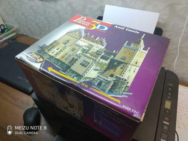 Продам: 3D пазл замка
