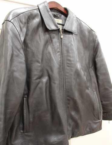 Продам: Куртка мужская кожаная чёрная Blue Coast