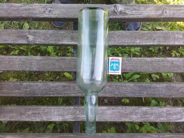 Продам: немецкая бутылка с клеймом на дне