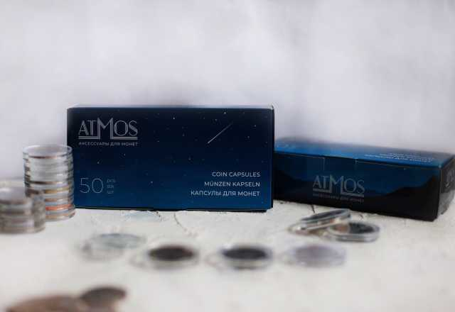 Продам: Капсулы для монет Atmos
