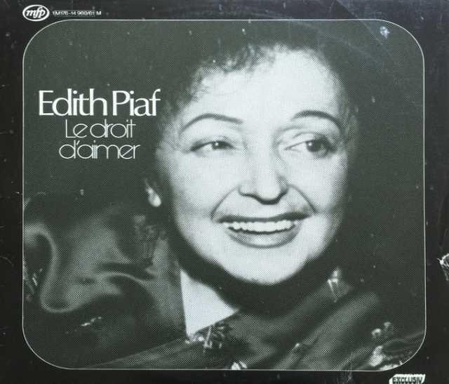 Продам: LP.Edith Piaf – Le Droit D'Aimer-1974