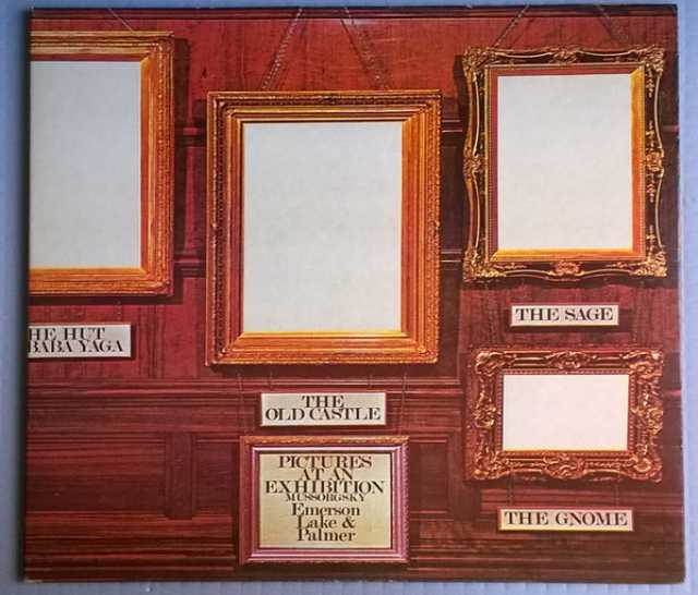 Продам: LP.Emerson, Lake & Palmer ‎– Pictures-74