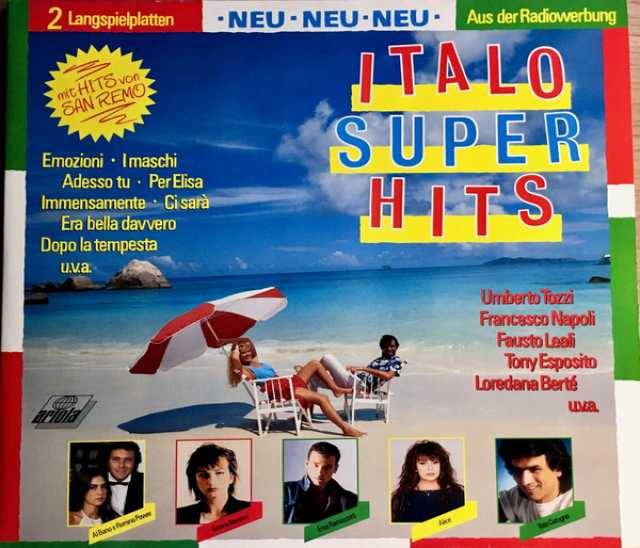Продам: 2LP.Italo Superhits • Mit Hits - 1988
