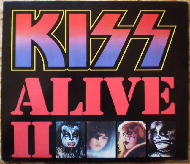 Продам: 2LP.Kiss – Alive II -1977/80