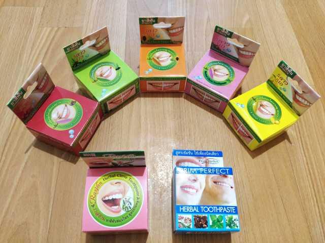Продам: Отбеливающая зубная паста из Таиланда