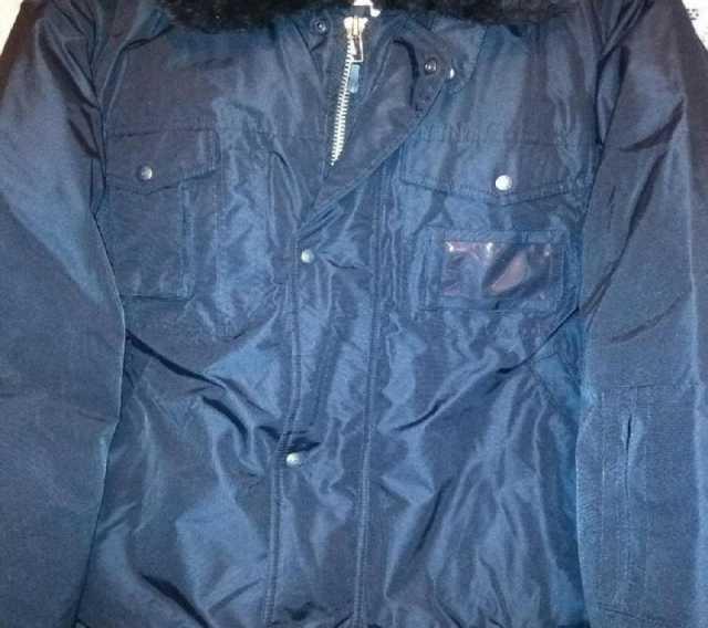Продам: Куртка мужск утеплен цвет черный 62-64р