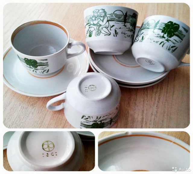 Продам: чайные пары СССР