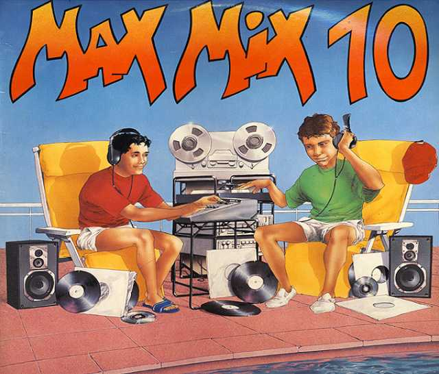 Продам: LP.Various – Max Mix 10 - 1990