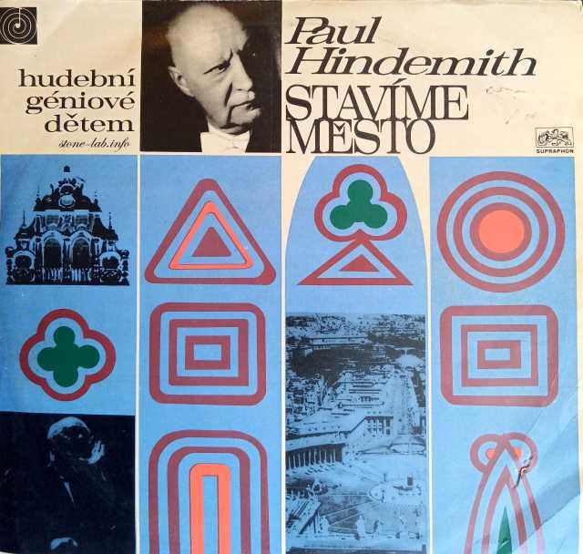 Продам: Paul Hindemith Stavíme Město LP