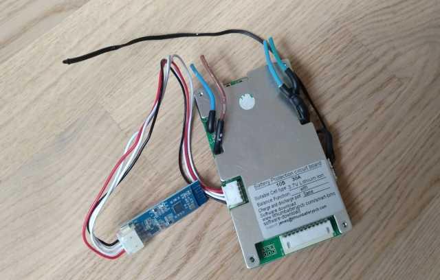 Продам: Smart Bluetooth BMS 10S 36V (42V) 30A