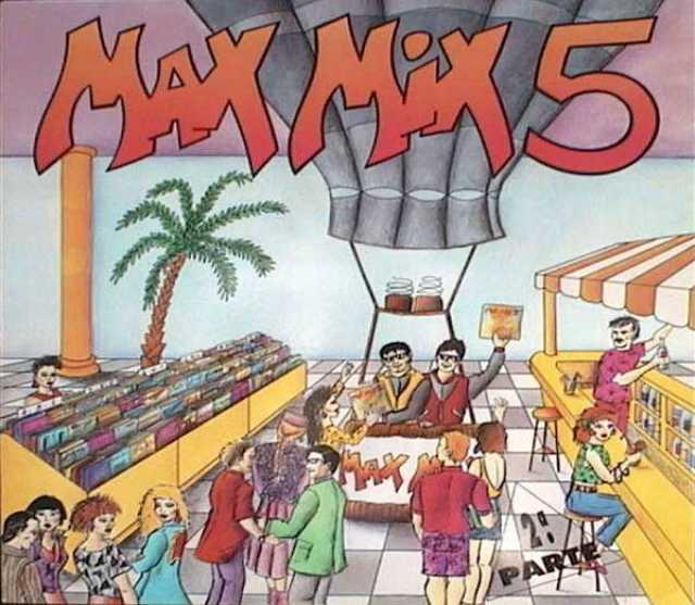 Продам: LP.Various – Max Mix 5 (2ª Parte) -1987