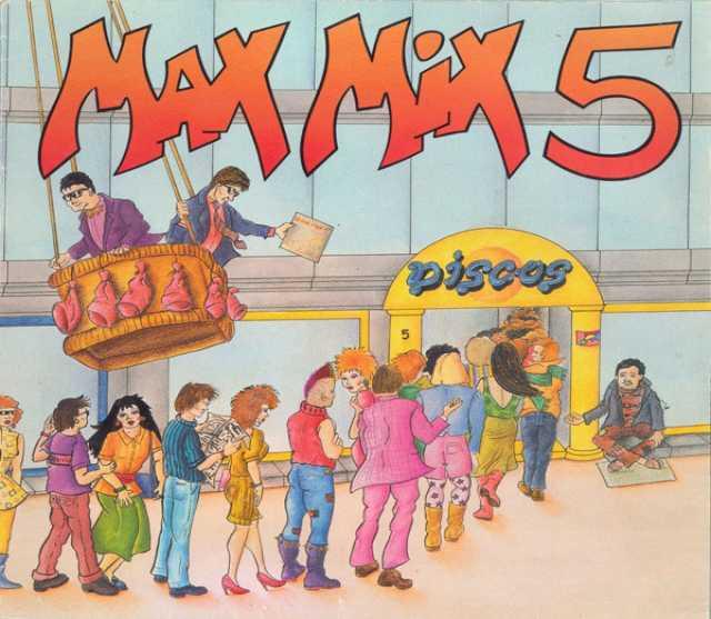 Продам: LP.Various – Max Mix 5(1PART) - 1987
