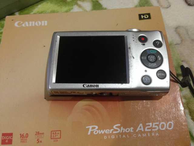 Продам: Фотоаппарат Canon PowerShot A2500
