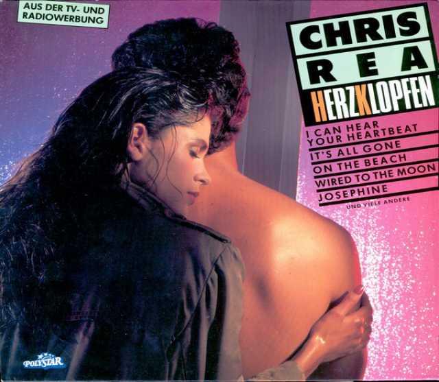 Продам: LP.Chris Rea – Herzklopfen - 1986