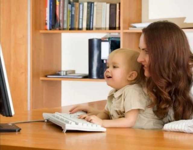 Вакансия: Подработка для мам в декрете