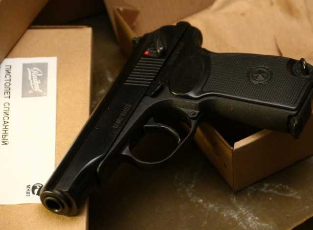 Продам: Охолощённый схп пистолет макаров Р-411