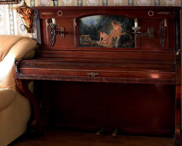 """Продам: Кабинетное антикварное пианино """"GELRUDER"""