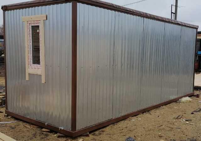 Продам: Блок контейнер зимний теплый