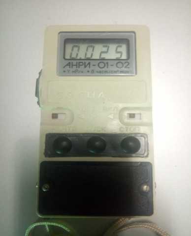 Продам: Анри 01-02 Сосна дозиметр-радиометр
