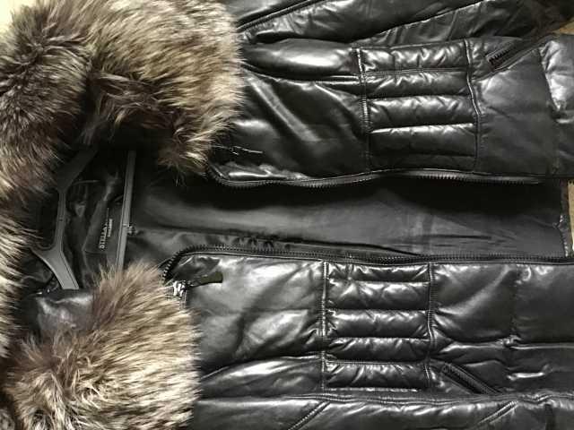 Продам: Куртка зимняя р46/48 кожа