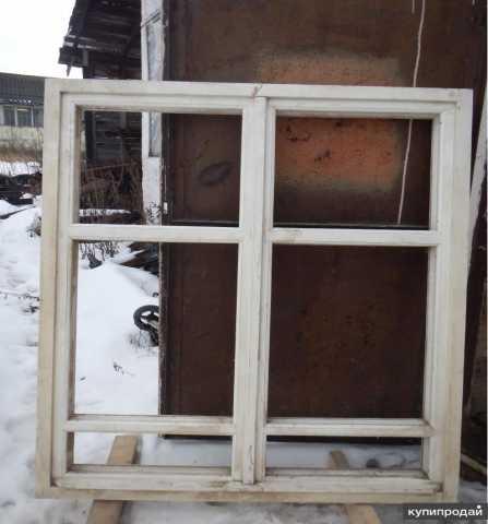 Продам: окно (рама) деревянные
