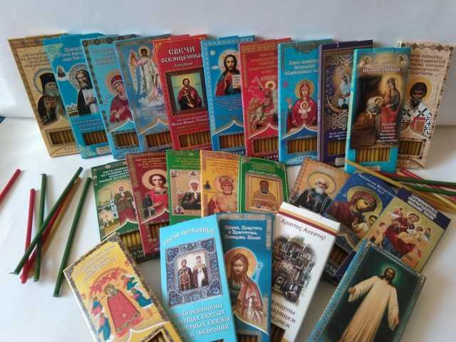 Продам: Свечи церковные для домашней молитвы