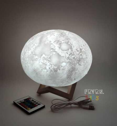 """Продам: 3D ночник """"Луна"""" 20см"""