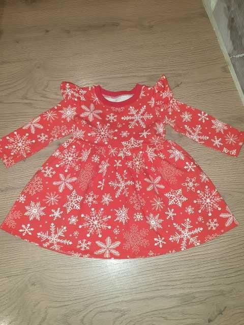 Продам: Новогоднее платье р.86