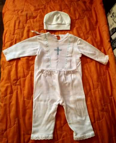 Продам: костюмчик для крещения