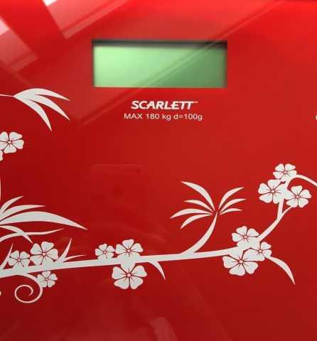 Продам: Напольные весы Scarlett SC-218