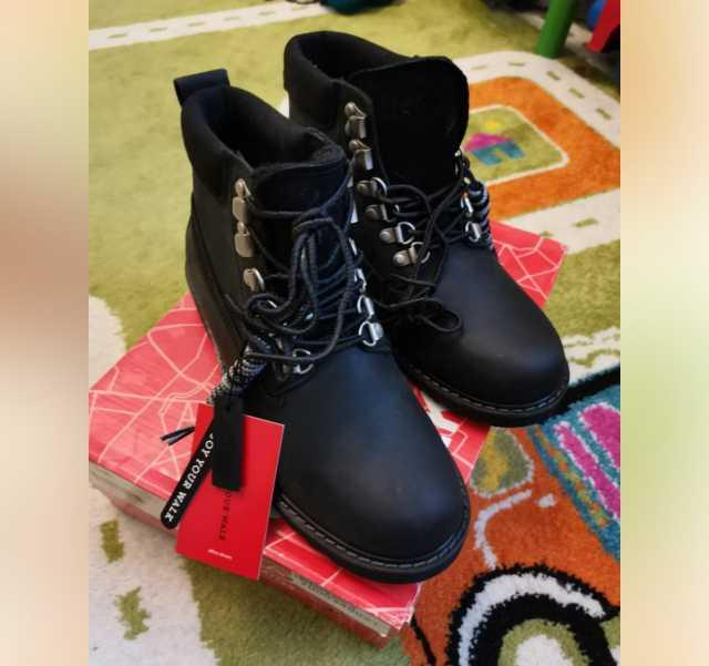 Продам: Ботинки из натуральной кожи