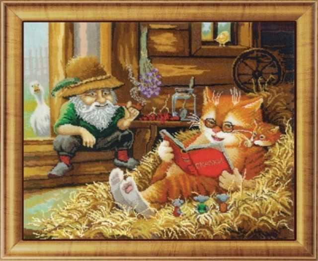 Продам: Бисерная вышивка - наборы Сказки на сено