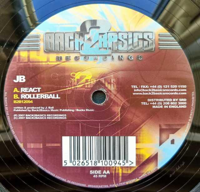 Продам: JB React Rollerball LP