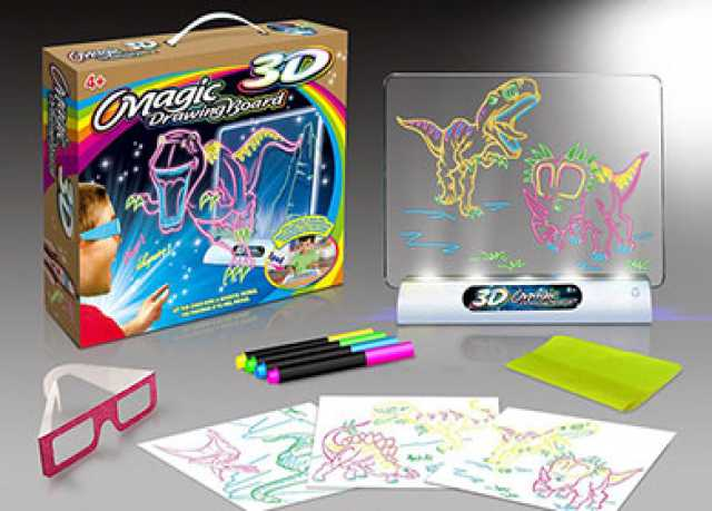 Продам: Доска для рисования Magic 3D Drawing Boa