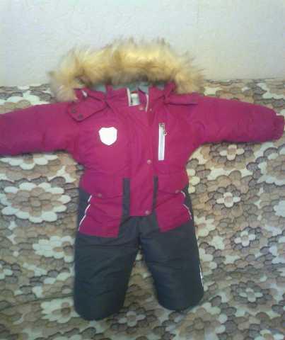 Продам: детский зимний комбинезон для девочки