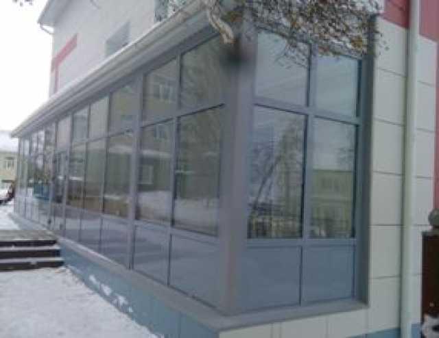 Продам: Алюминиевые конструкции Двери Окна Витра